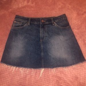 blue jean skirt from H&M
